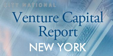Venture Capital Report - New York - Q3 2014