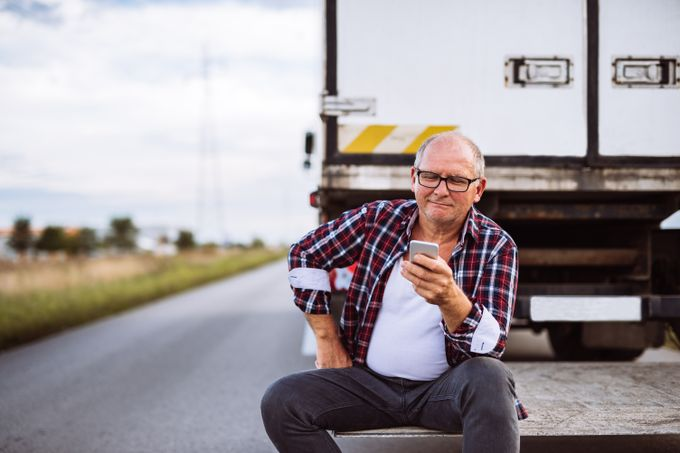 Truck Driver Data Security