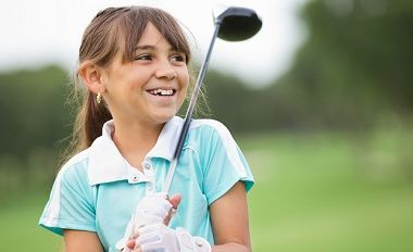 Girls Who Golf May Get a Business Boost