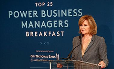 City National Sponsors THR Breakfast