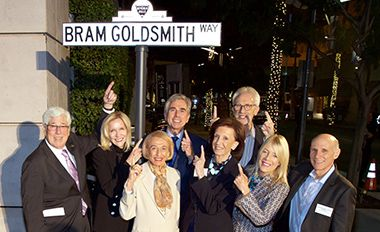 The City of Beverly Hills Names Street After Bram Goldsmith