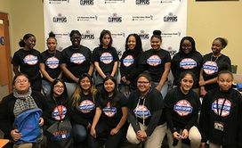 Celebrating Women's History Month by Volunteering with the Clippers
