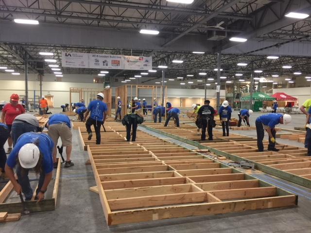 OC Habitat Leaaders Build