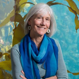 Julie Packard, Executive Director of the Monterey Bay Aquarium. Must credit: © Corey Arnold