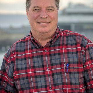 Jon Hoech, Monterey Bay Aquarium Director of Husbandry Operations, © Monterey Bay Aquarium, Photo by Tyson V. Rininger