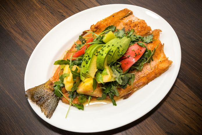 Sustainable seafood dish.©Monterey Bay Aquarium