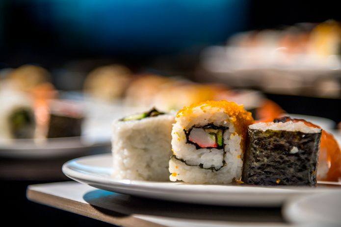 Sustainable sushi. ©Monterey Bay Aquarium