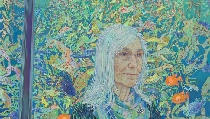 National Portrait Gallery Announces Newly Commissioned Portrait of Ocean Conservation Leader Julie Packard by Artist Hope Gangloff