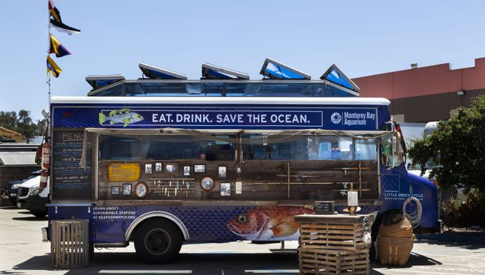 Monterey Bay Aquarium Seafood Watch Food Truck Serves Up Ocean-Friendly Fare at Bay Area Summer Events
