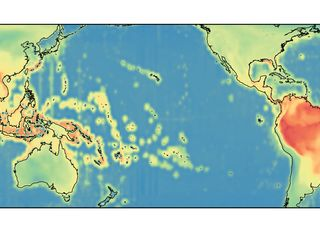 Figure 1. Global terrestrial and marine biodiversity patterns. (a) Observed species richness derived from the distributions of 44,575 marine and 22,830 terrestrial species. Species richness is ln-transformed and rescaled within each domain (terrestrial and marine) and plotted on a 50 km equal 528 area grid.