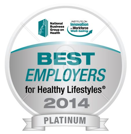 The Hartford Named A 2014 Best Employer For Healthy Lifetyles