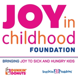 The Dunkin' Donuts & Baskin-Robbins Community Foundation Introduces Newly-Rebranded Joy in Childhood Foundation During Third Annual Week of Joy