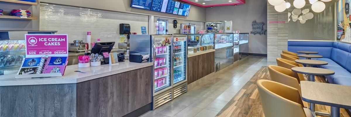 Baskin-Robbins Interior Image