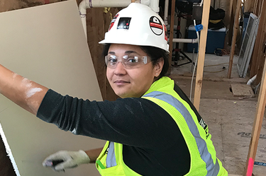 How Dunkin's Meagen Hendricks is Forging Her Own Path in Construction