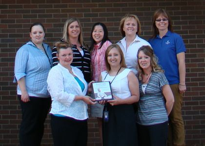 Stevens Point Associated Bank team recognized for March of Dimes participation