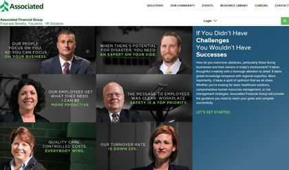 Associated Financial Group launches new website