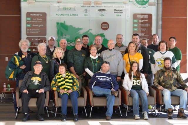 Associated Bank treats veterans to the Lambeau experience