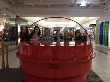 Associated Bank's Associated Women's Network rings bells for Salvation Army