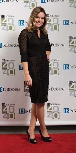 Red carpet affair The 2015 40 under 40 class featuring Melissa Fellows of Associated Bank