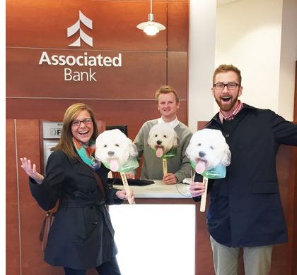 "Check In at Associated Bank for the ""Winning Hank"" Contest"