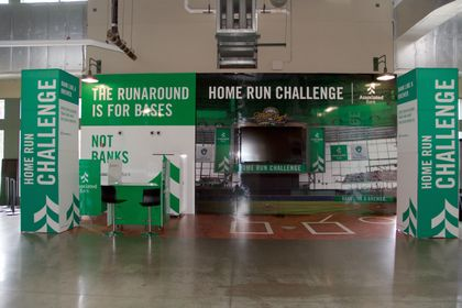 Hometown baseball fans can challenge their batting skills and receive great giveaways