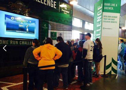 "Associated Bank launches an interactive ""Home Run Challenge"" game"