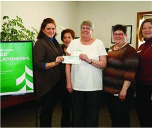 Associated Bank donates to the Boys and Girls Club