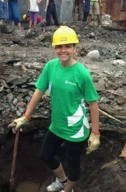 Associated Bank colleague flies across the world for a Habitat for Humanity build