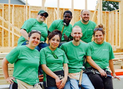 Associated teams up with Habitat for statewide build week