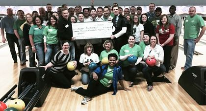 Associated and Junior Achievement bowl for financial literacy