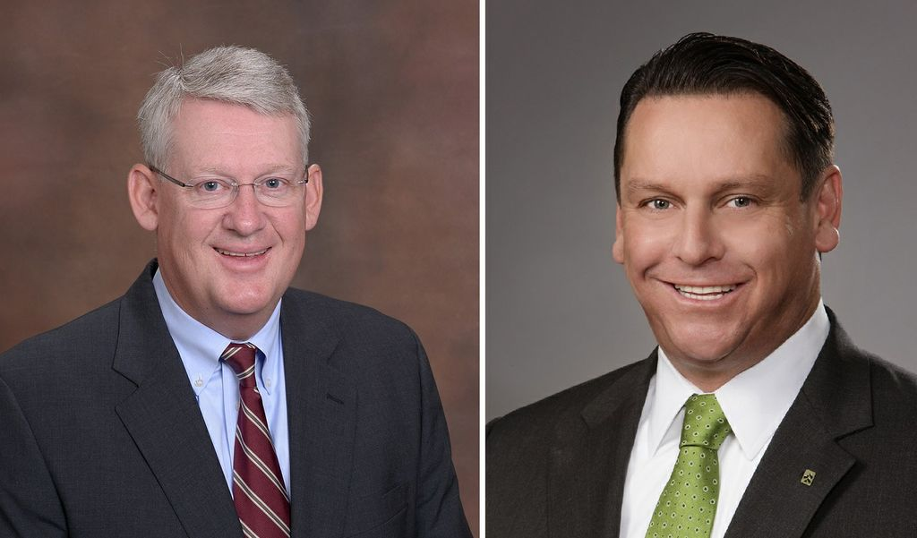 Paul Schmidt, deputy head of Commercial Real Estate, & John A. Utz, executive vice president, head of Corporate Banking and Specialized Financial Services, and Milwaukee market president