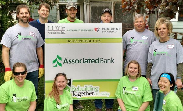 Associated Bank sponsors Rebuilding Together house