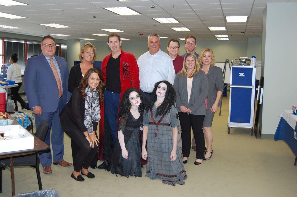 Associated Bank Hosts Dracula-themed Blood Drive