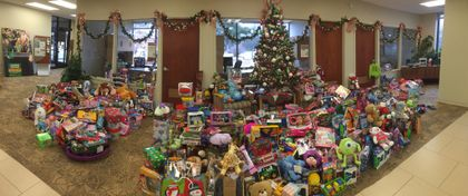 Associated Bank's annual Giving Tree benefits families in need