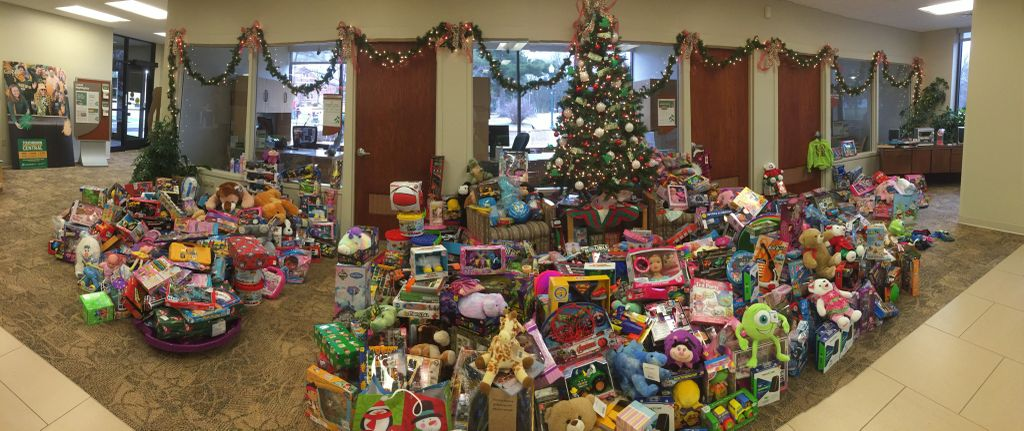 Associated Bank's annual Giving Tree in Crandon benefits families in need