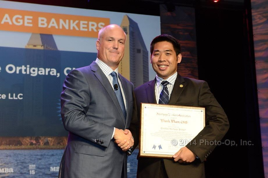 Thanh Pham of Associated Bank in Chicago named Certified Mortgage Banker