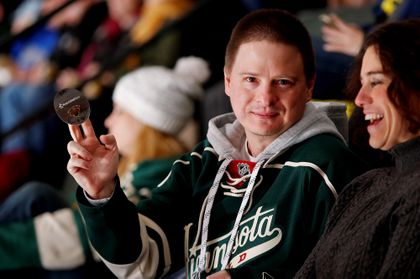 MINNESOTA WILD: Associated Bank hosts 'Puck Drop' for Minnesota Wild® fans
