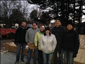 Associated Bank's Women's Network supports Habitat for Humanity in Stevens Point