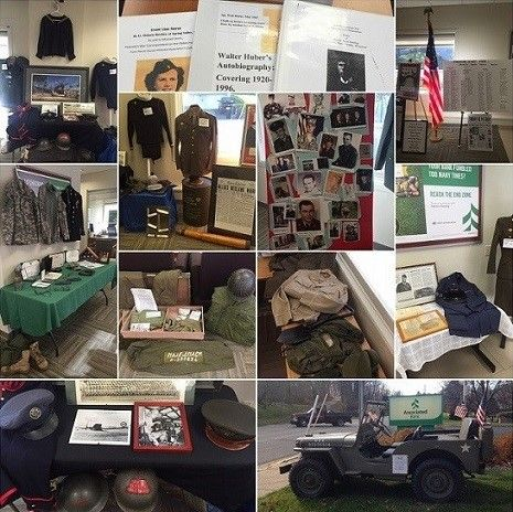 Associated Bank honors veterans with memorabilia displays and donations to local American Legion Posts
