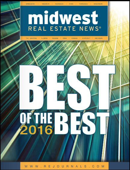 Associated named Best of the Best 2016 by Midwest Real Estate News