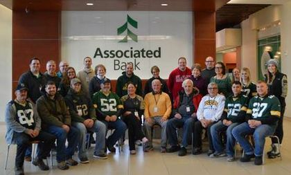 Associated Bank's Veterans Network hosts veterans at Lambeau Field