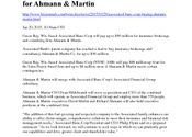 Associated Ahmann & Martin Co. News Release