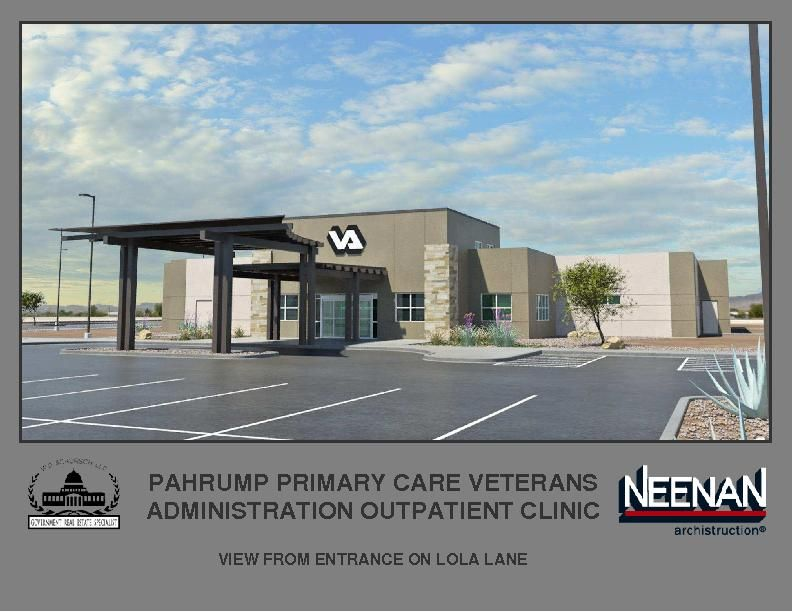 Associated Bank loans $7.1M for new VA clinic in Pahrump