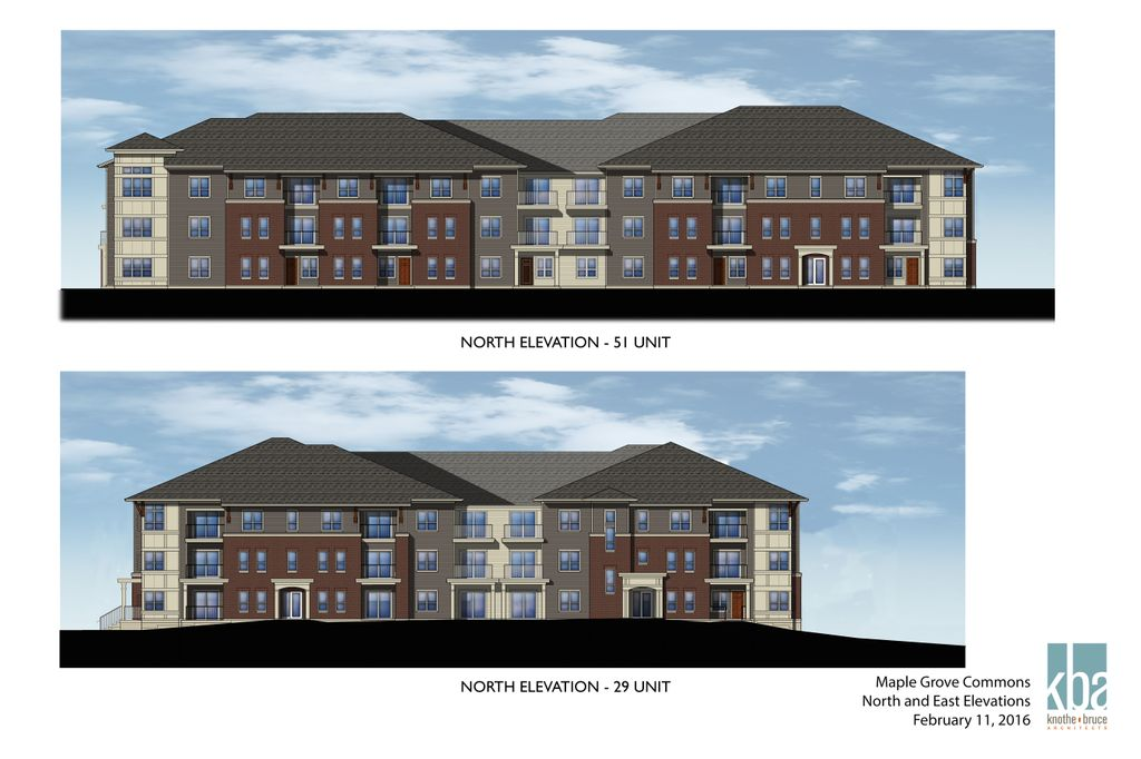 Maple Grove Commons Elevations
