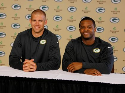 GREEN BAY PACKERS: Green Bay Packers receivers Jordy Nelson and Randall Cobb partner with Associated Bank for second year