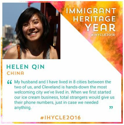 Global Cleveland features Helen Qin in Immigrant Heritage Year feature