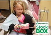 Associated Bank Stock the Box for Healthy Smiles