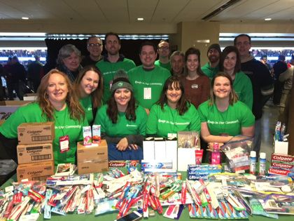 Stock the Box™ for Healthy Smiles dental drive continues in branches through Feb. 24
