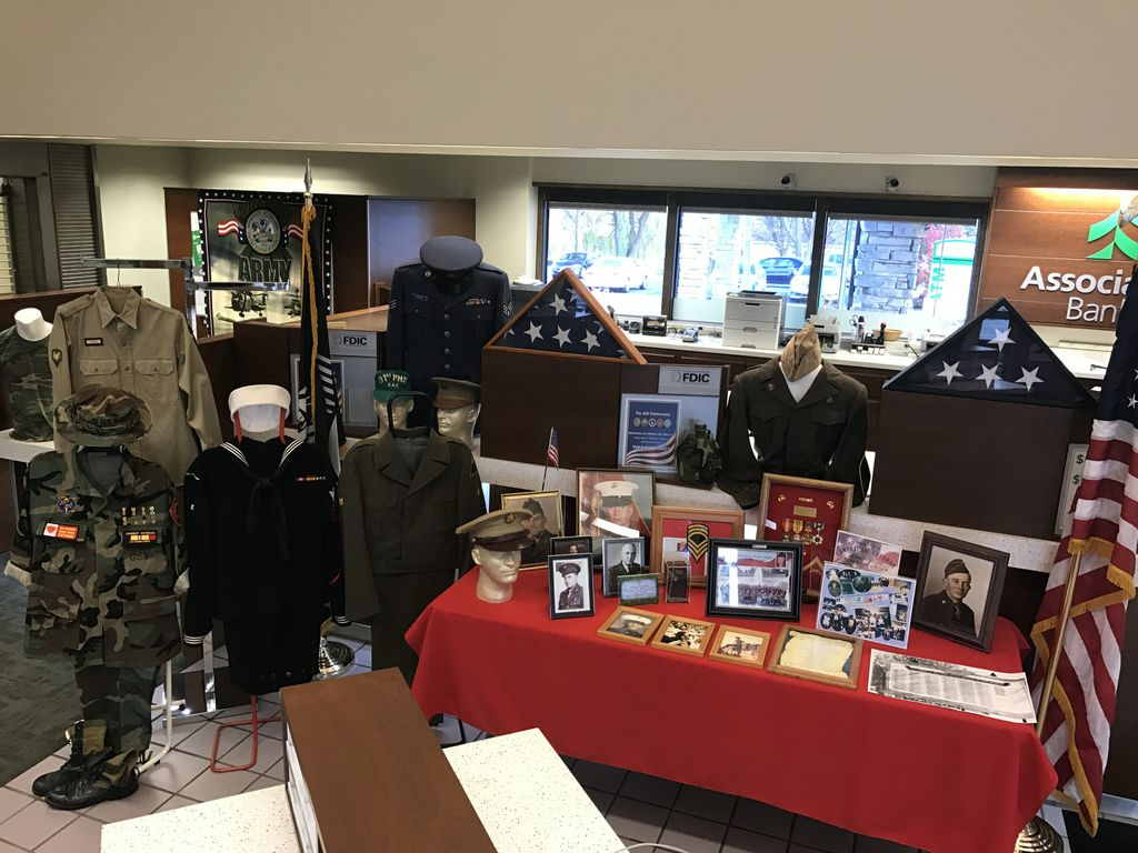 2016 Winning veterans display in Allouez, Wis.