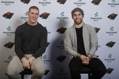 Associated Bank offers Minnesota Wild fans an exclusive opportunity to meet Charlie Coyle and Jason Zucker